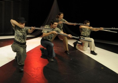 Soldiers Jab - Work Created Under Compulsion   Memory War Theater